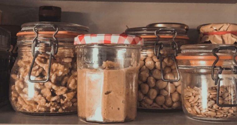 Mantequilla de nueces