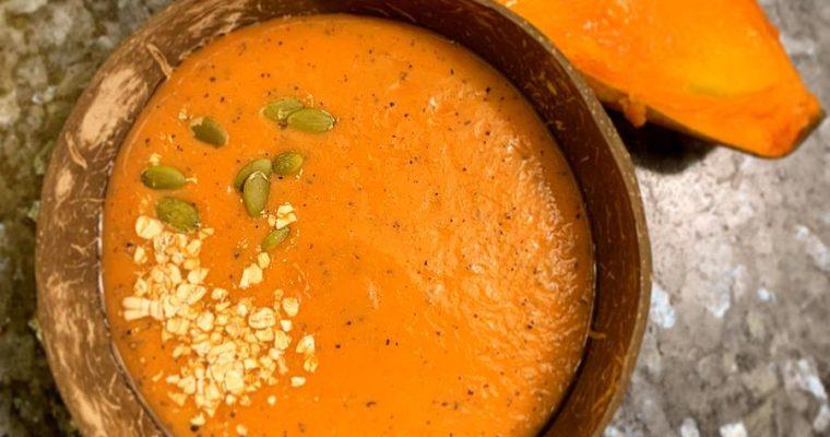 Gazpacho de papaya