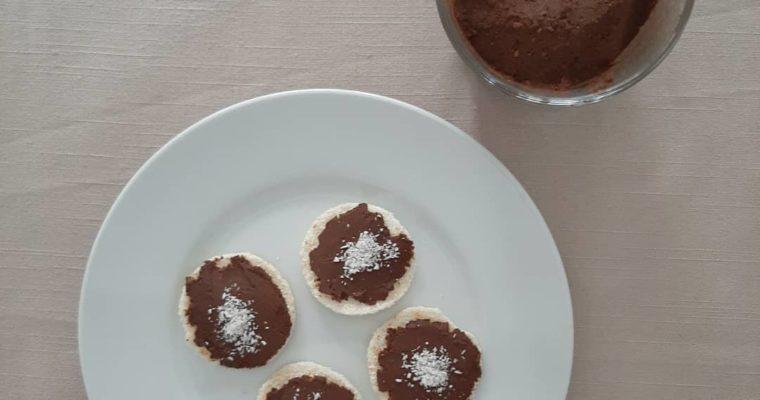 Crema de cacao vegana