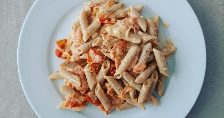 Macarrones con salsa especial